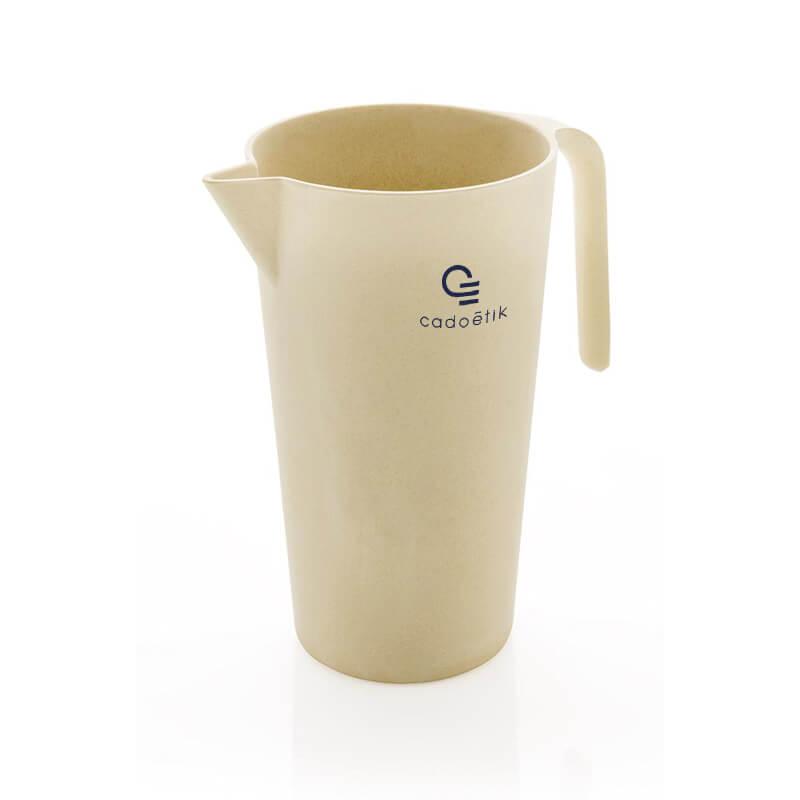 Ustensile de cuisine personnalisé - Carafe Eco 1.7 L en bambou