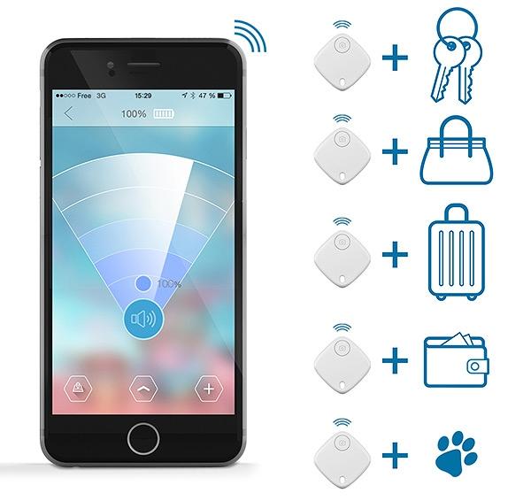 Traceur de clés publicitaire SmartFinder Home - Cadeau d'entreprise