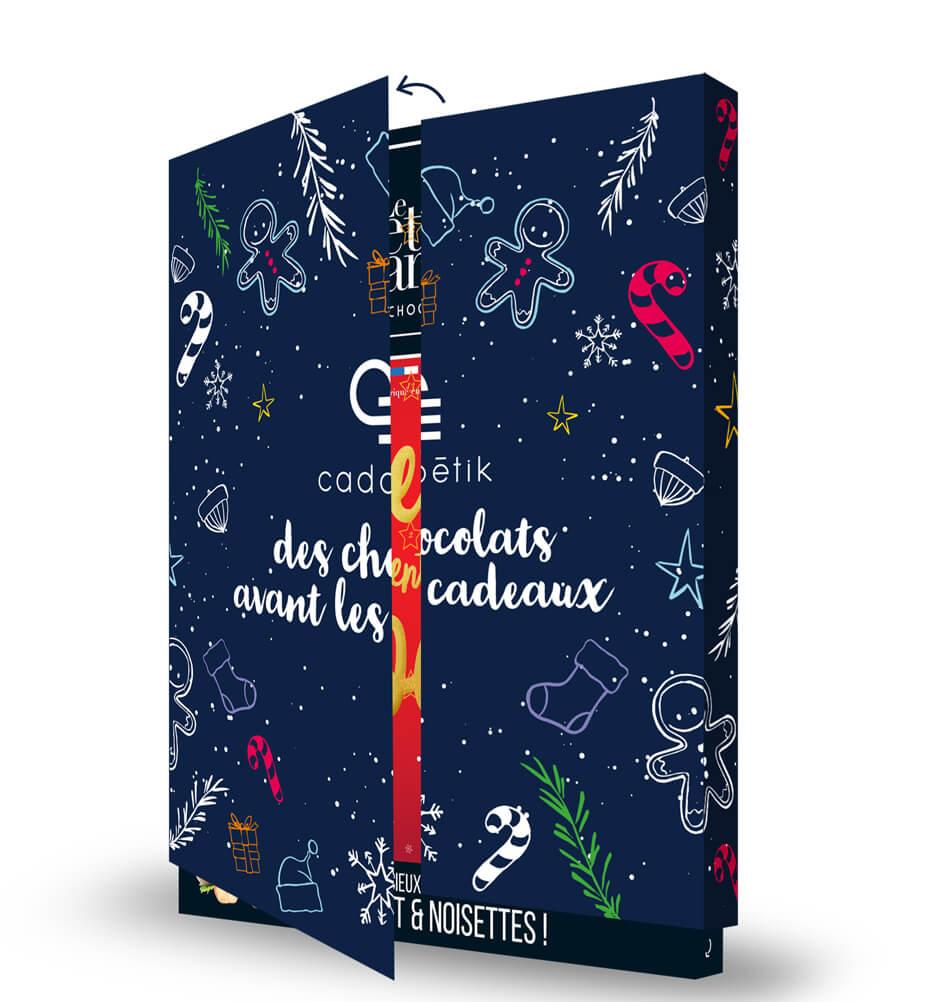 Goodies chocolat - Calendrier de l'Avent Citation