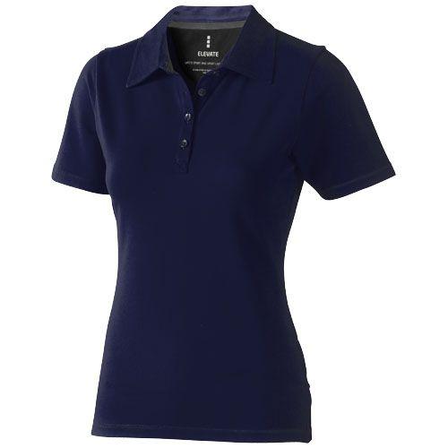 Polo bleu marine à personnalisé pour femme