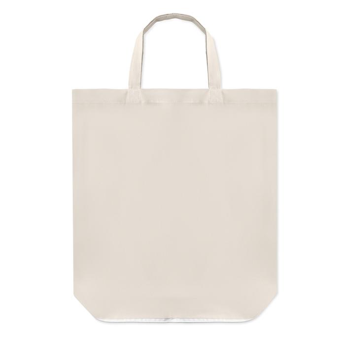 Sac shopping pliable personnalisé Foldy - sac en coton personnalisé