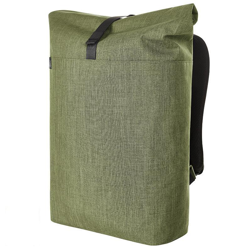 Sac à dos ordinateur publicitaire en polyester recyclé Vert