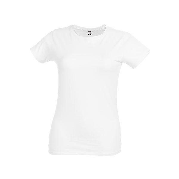 T-shirt publicitaire pour femme Ankara women blanc