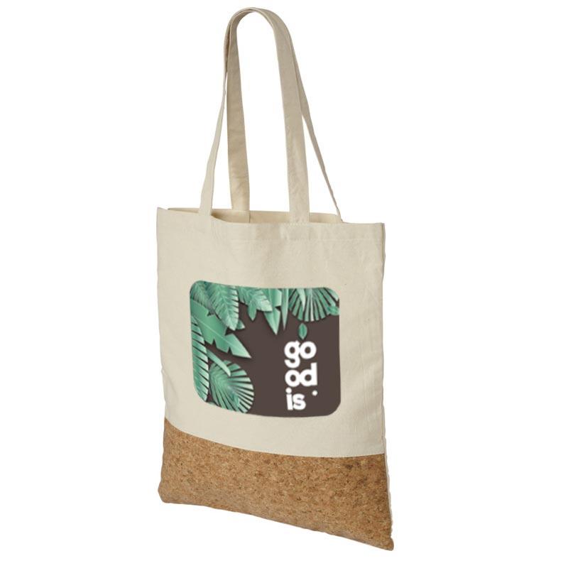 Support de communication responsable - Sac shopping Cork