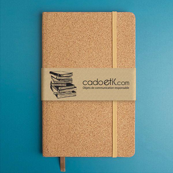 Cahier publicitaire écologique en liège Coko - Objet de communication responsable