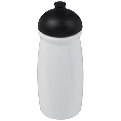Gourde sport personnalisé - Bouteille de sport publicitaire H2O Pulse® 600 ml avec couvercle en dôme