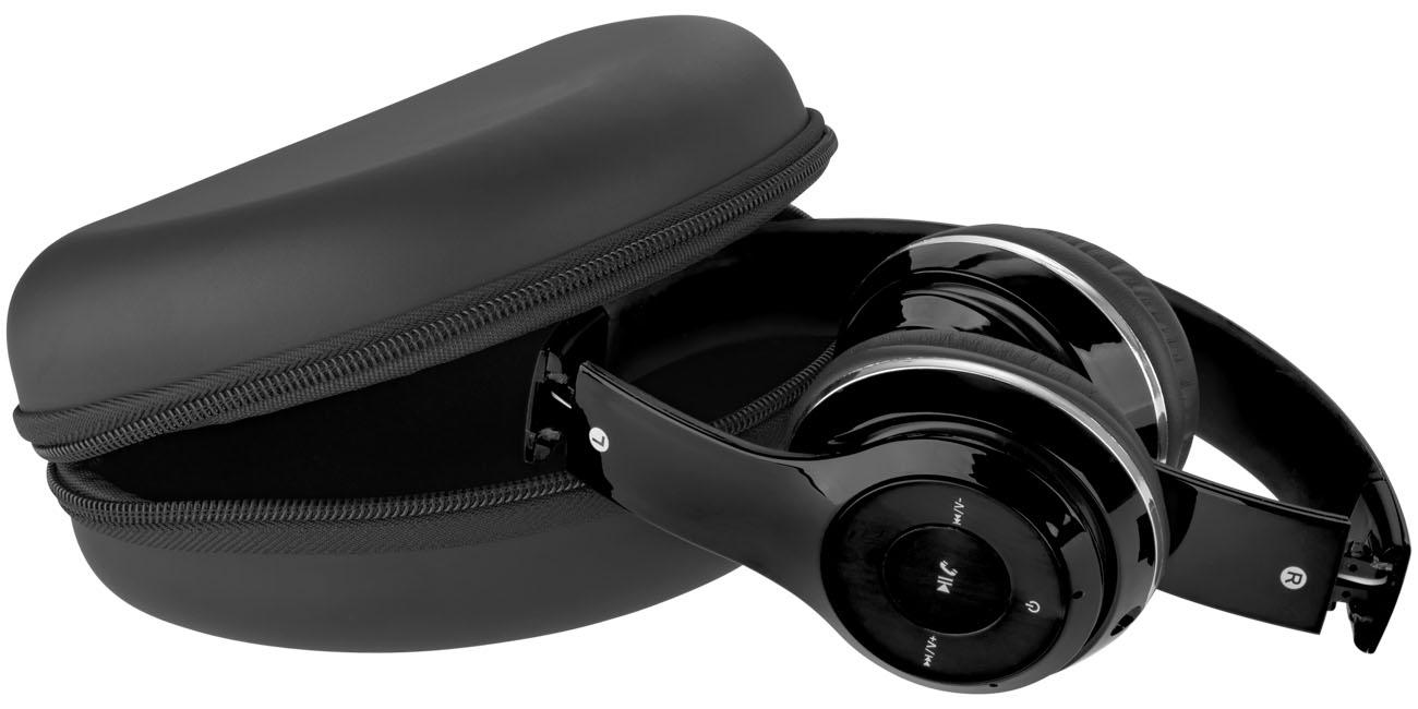 Casque publicitaire Bluetooth® pliable Cadence - objet publicitaire high-tech