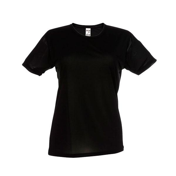 T-shirt publicitaire technique femme Nicosia - jaune
