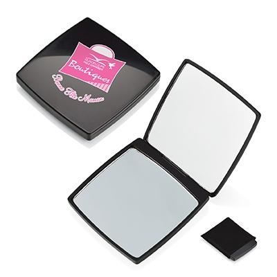 Miroir de poche publicitaire Style - cadeau publicitaire pour femmes
