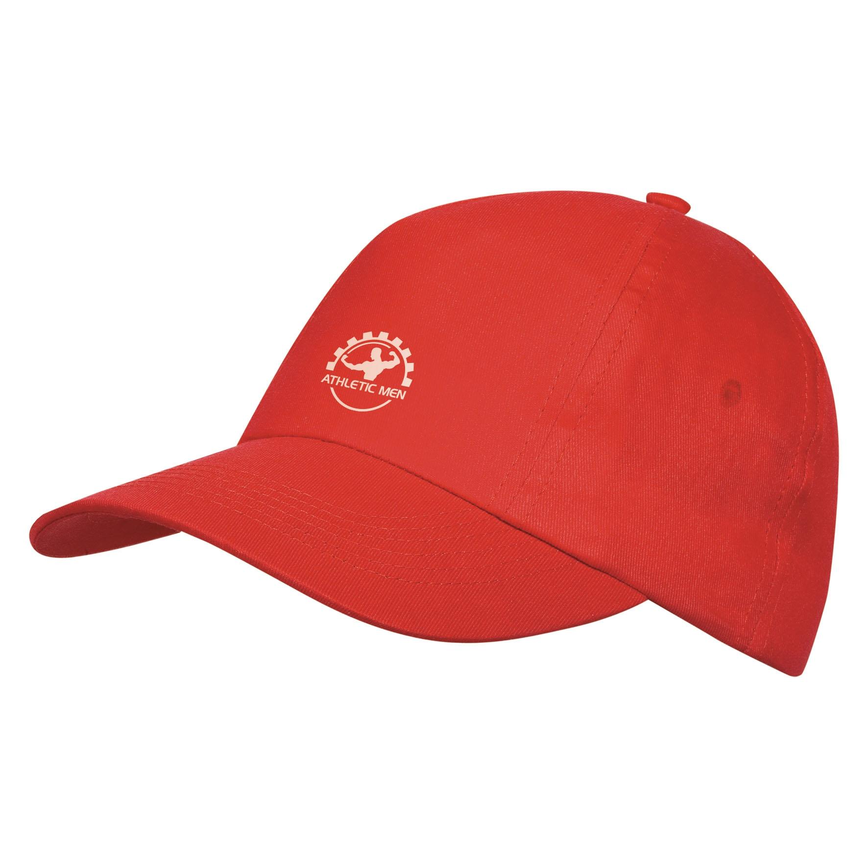 Casquette publicitaire 6 panneaux Decalés - casquette personnalisable