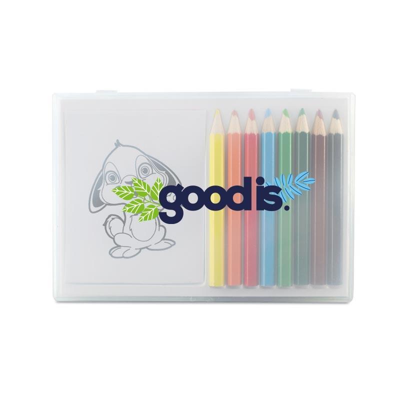 Set crayons de couleur et coloriage - Goodies enfants