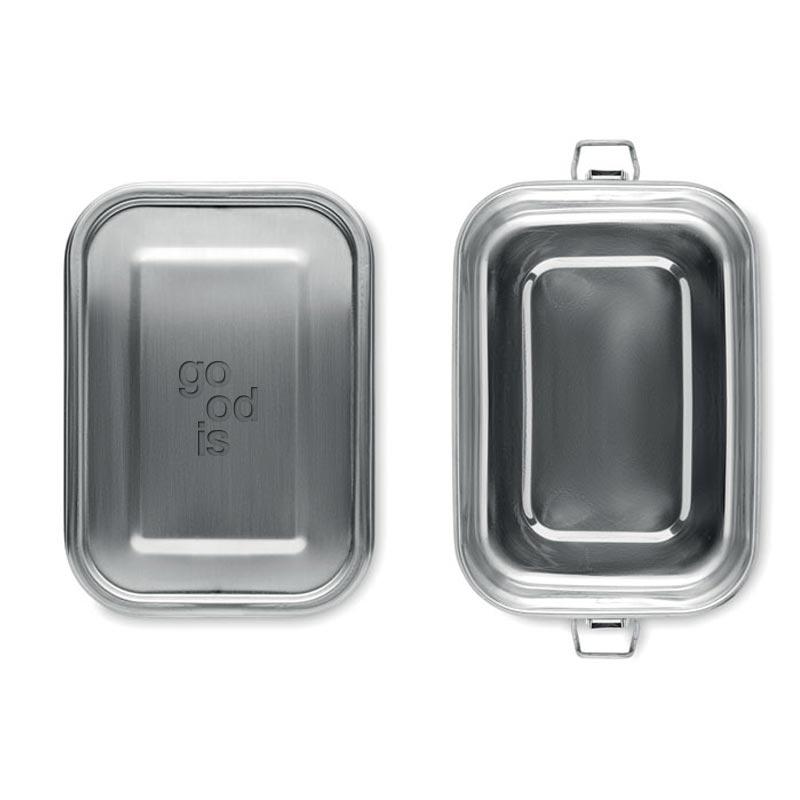 lunch box personnalisée en inox chan - goodies écologique