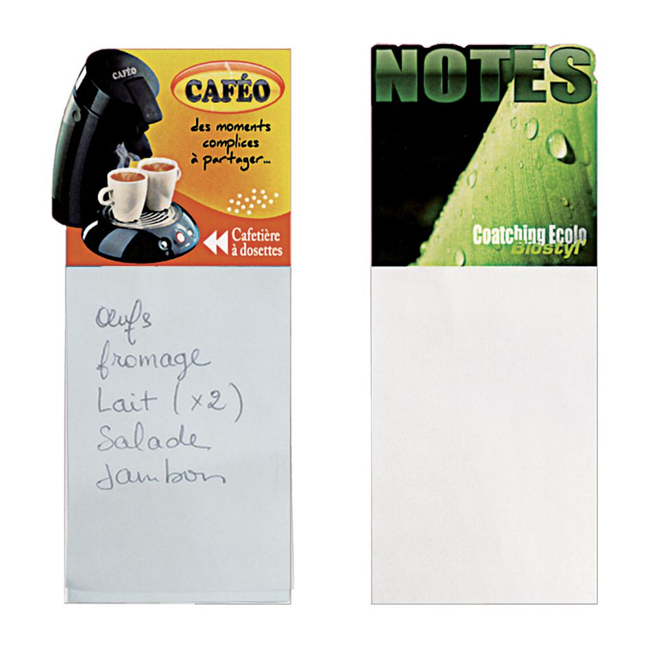 Bloc-notes publicitaires Magneto - bloc-notes personnalisables