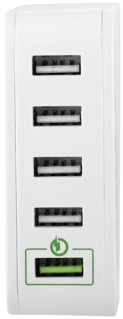 Hub publicitaire USB Quick Charge 2.0 - cadeau d'entreprise  pour le voyage