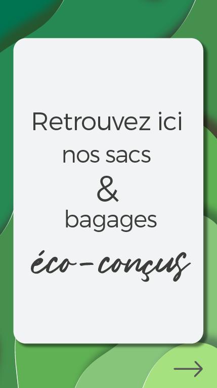 push selection sac bagages écoconcus