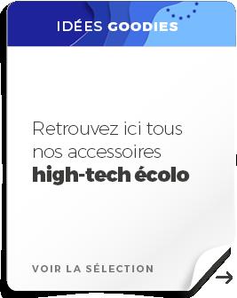 push merch high tech écolo