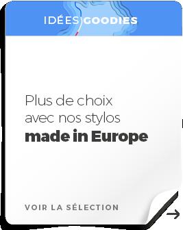 push merch stylos europe