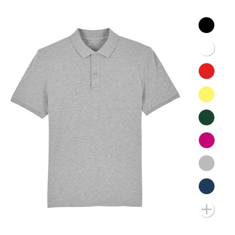 polo publicitaire en coton bio dedicator - textile publicitaire