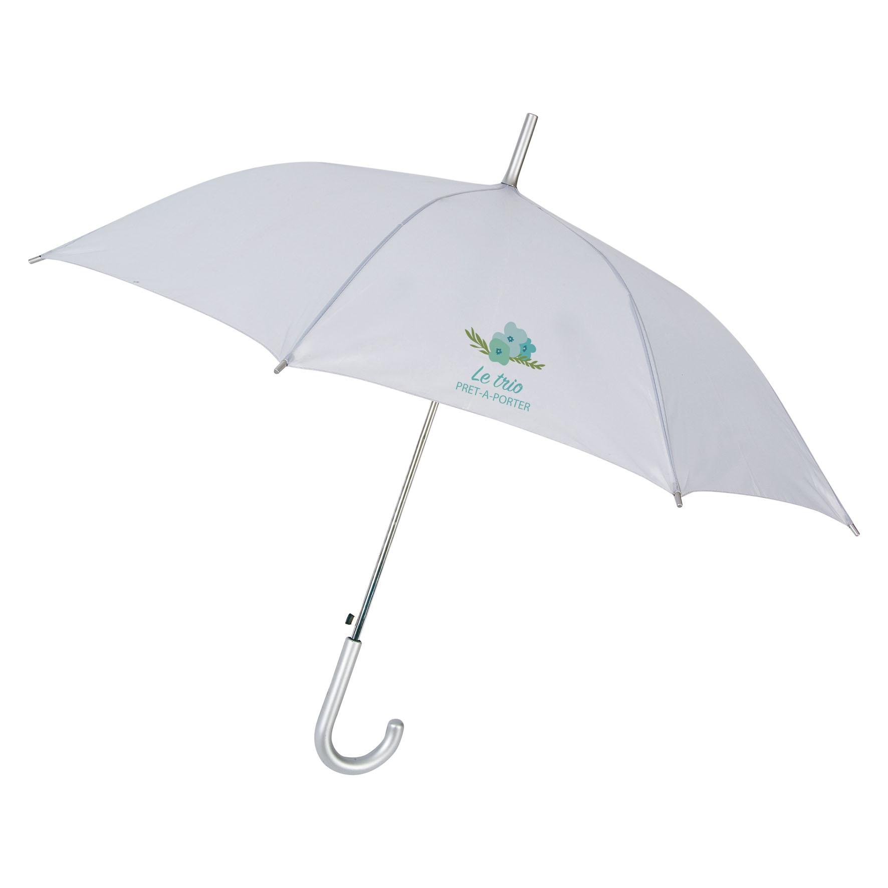 Parapluie publicitaire canne Glav - Parapluie personnalisable - rouge