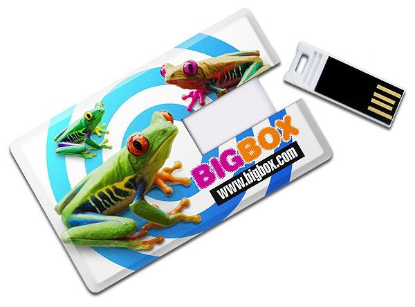 Clé USB 1 Go Carte Skinny -  Objet publicitaire