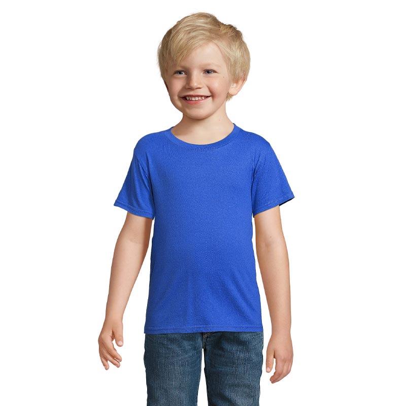 t-shirt enfant personnalisable en coton bio Crusader