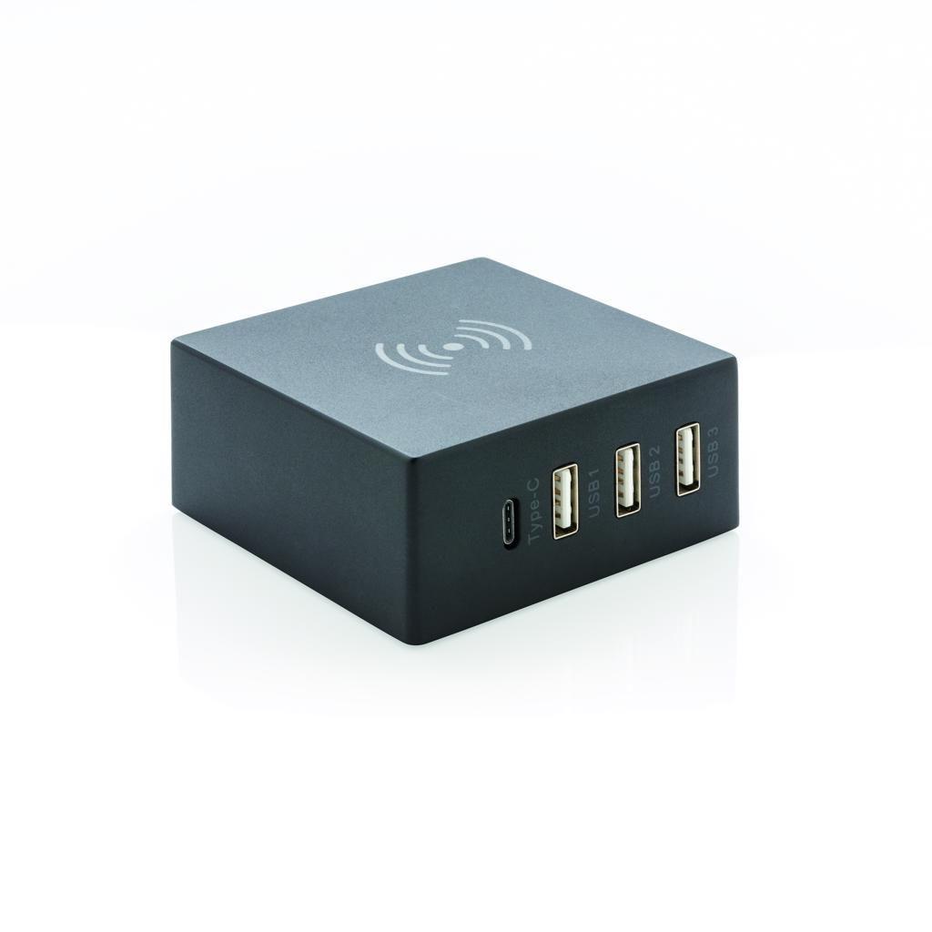 Station de charge personnalisée USB 2 en 1 10W Block