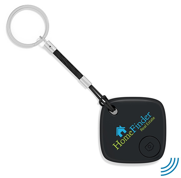 Traceur de clés publicitaire SmartFinder Home - noir