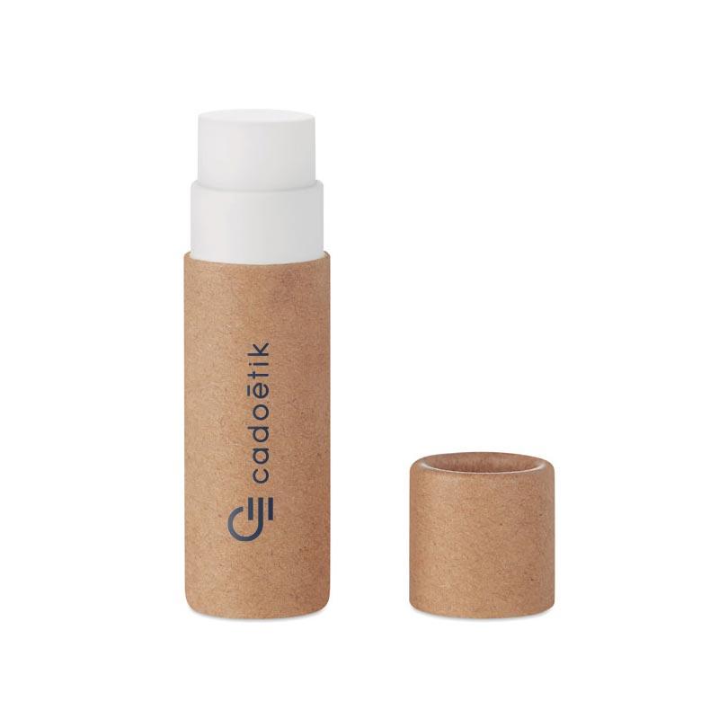 Baume à lèvres publicitaire en carton Paper Gloss - Goodies beauté