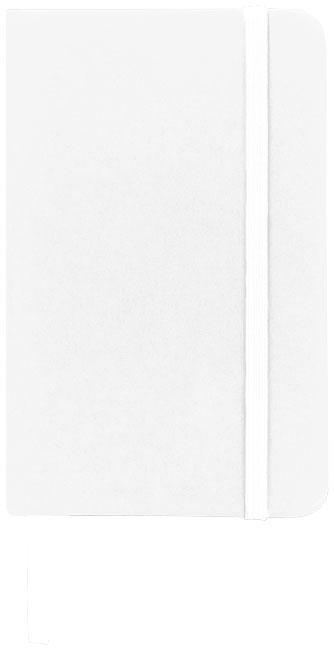 Carnet de notes personnalisé A5 Spectrum avec pages blanches blanc