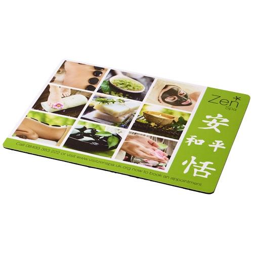 Goodies entreprise - Tapis de souris publicitaire Q-Mat® rectangulaire