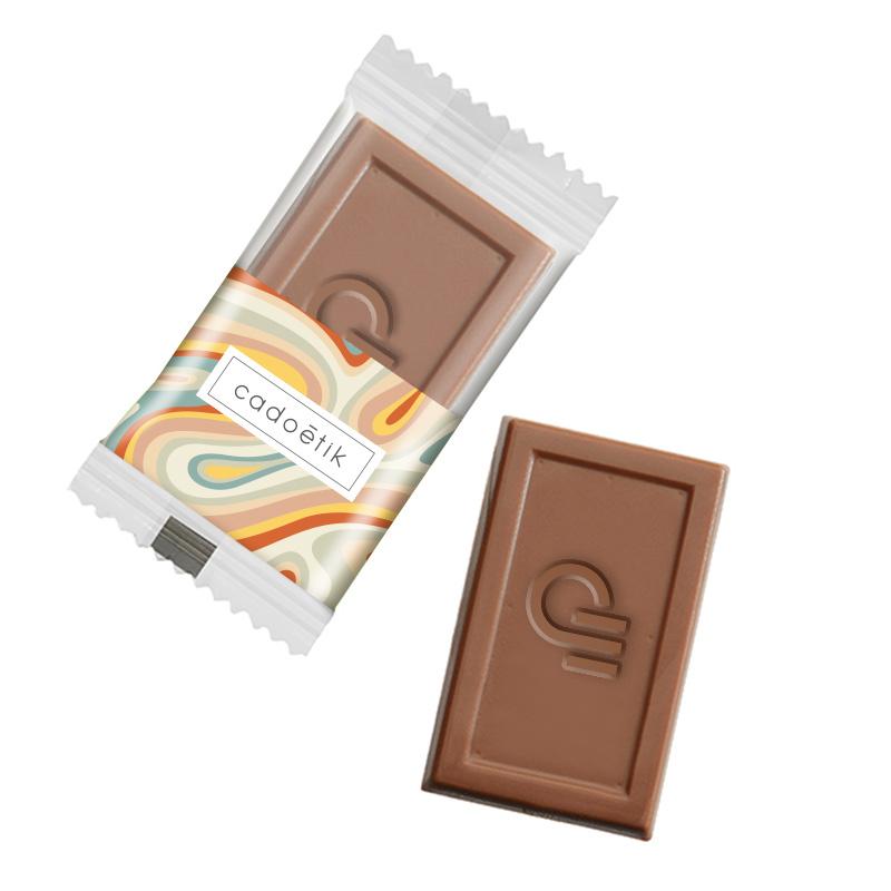 Sachet chocolat publicitaire Midi