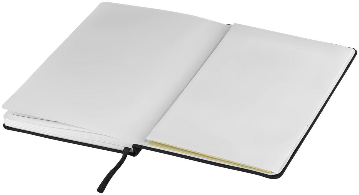 Bloc-notes publicitaire Color Denim - carnet publicitaire noir