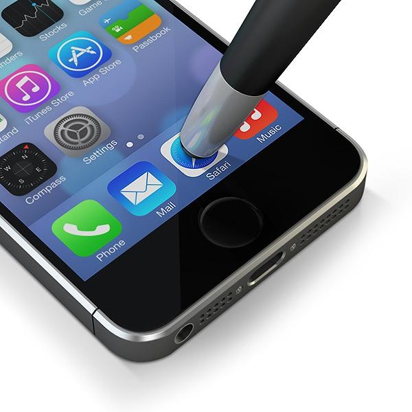 Stylo-stylet USB publicitaire SmartPen Trio - Cadeau publicitaire