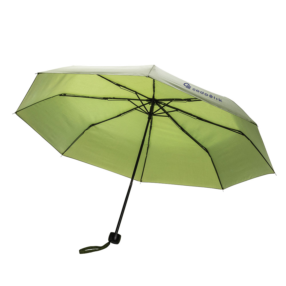 Mini parapluie en rPET Impact Aware™ vert