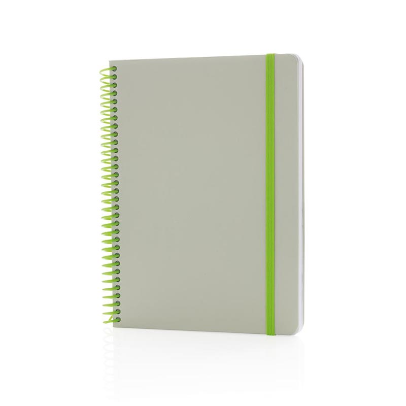 Carnet A5 personnalisé Ecogreen