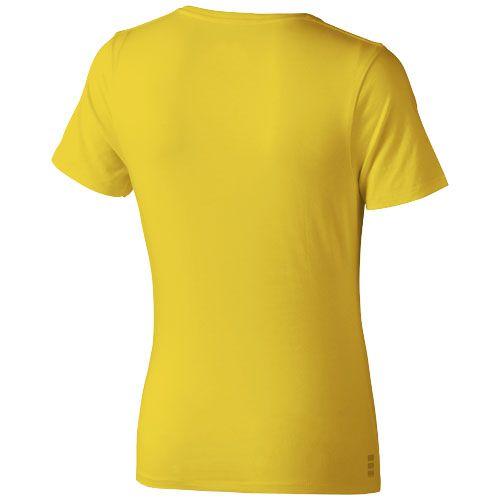 T-shirt femme publicitaire Nanaimo - tee-shirt coton publicitaire orange