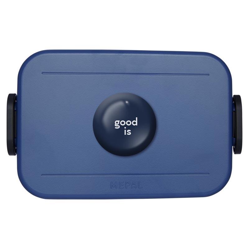Lunch box publicitaire Take-a-Break - Coloris bleu
