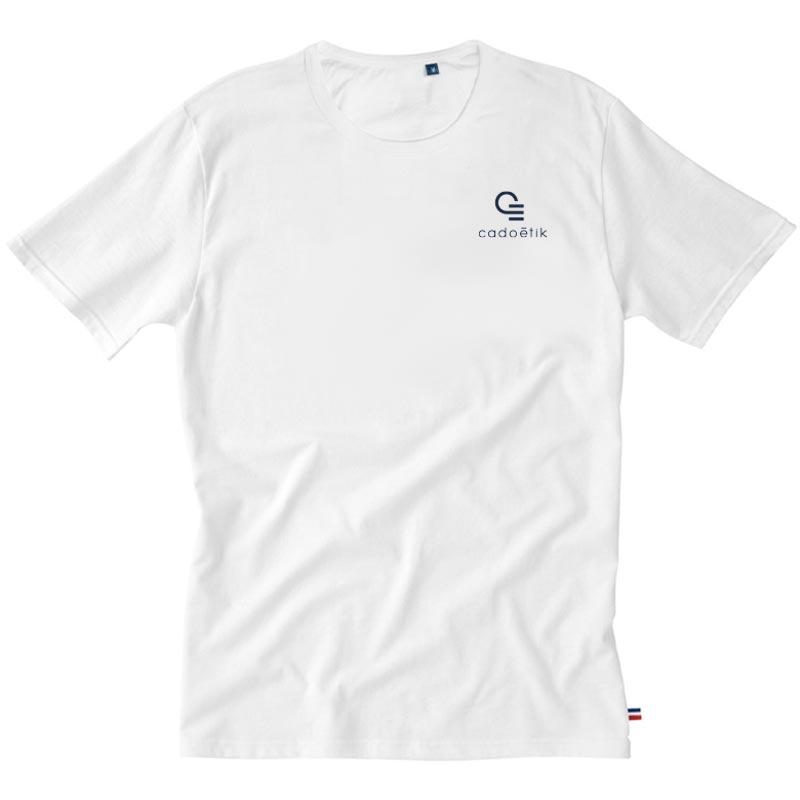 tee-shirt publicitaire en coton bio Achille