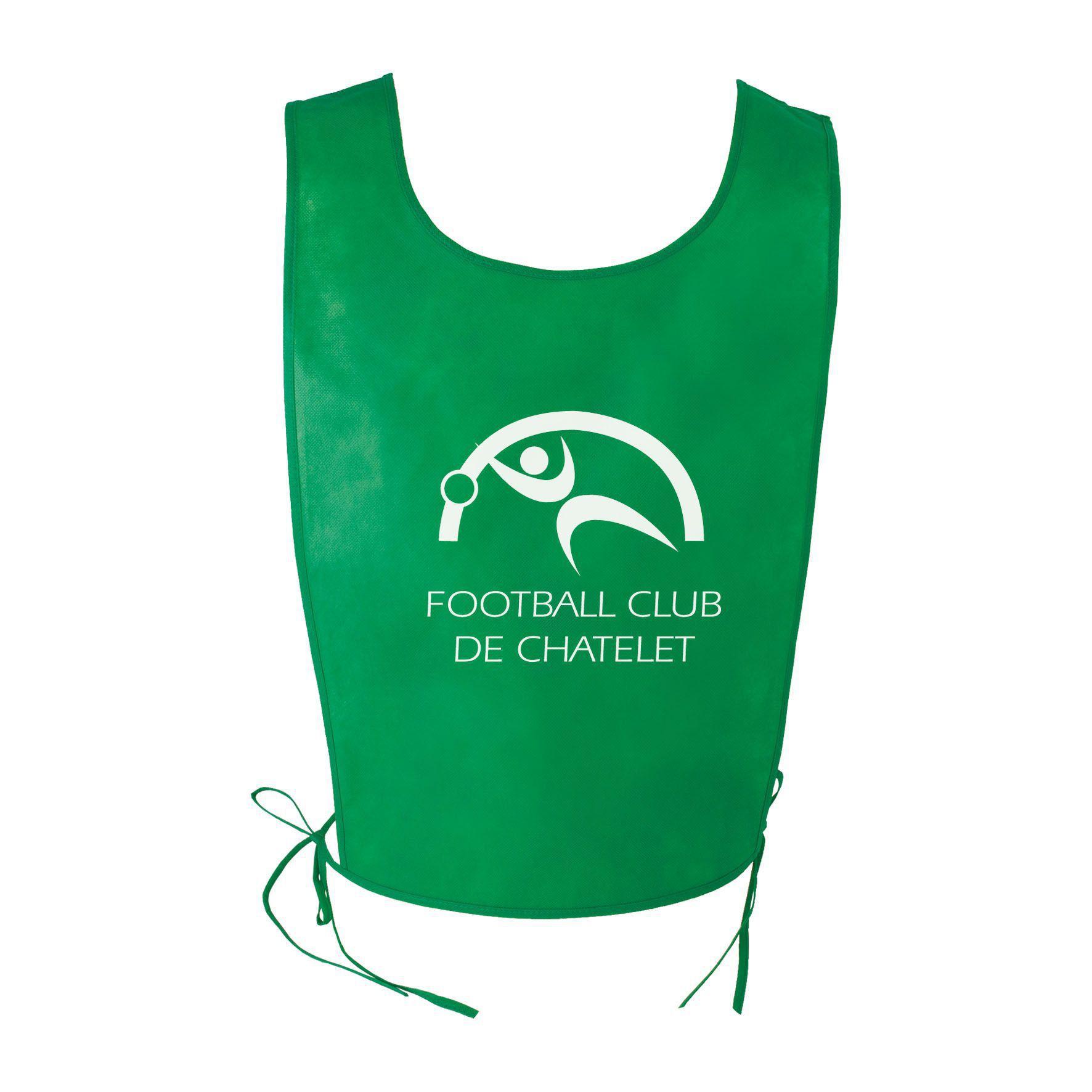 Objet publicitaire sport - Chasuble publicitaire sport Athlé - vert