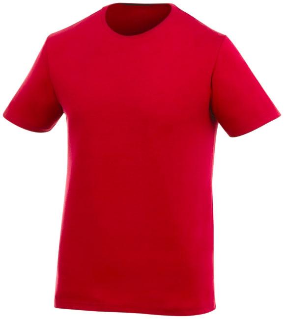 T-shirt publicitaire manches courtes Finney - Tee-shirt promotionnel - rouge