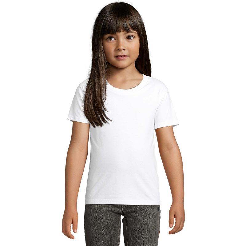 T-shirt publicitaire en coton bio pour enfant Pioneer - Textile publicitaire bio
