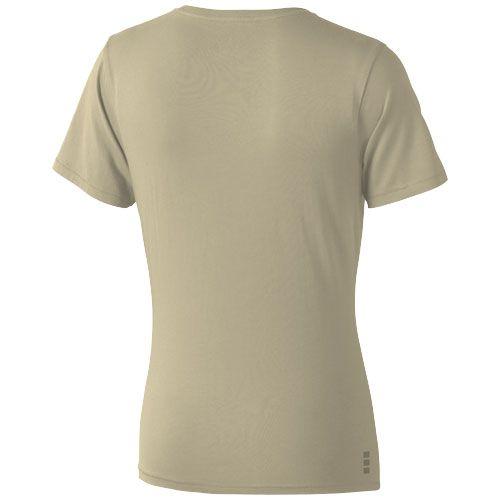 T-shirt femme publicitaire Nanaimo - tee-shirt coton personnalisé rose