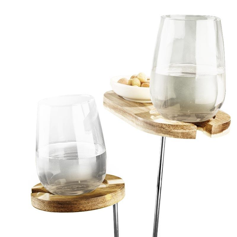 Set porte-verres pour jardin - Goodies entreprise