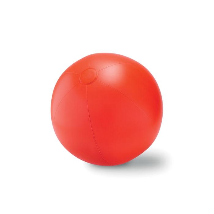 Objet publicitaire - Ballon plage gonflable en PVC Play - blanc