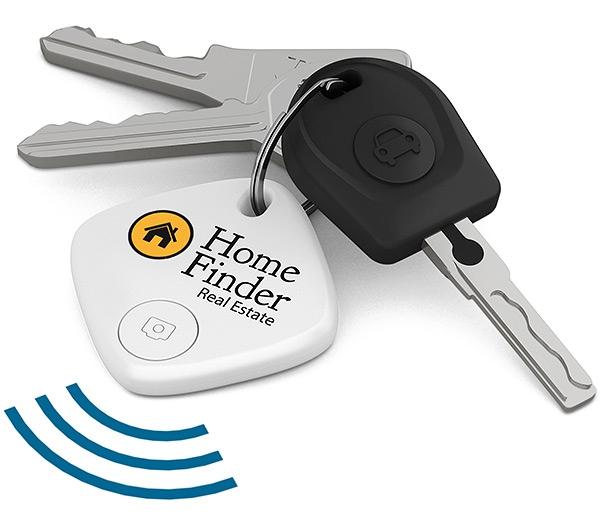 Traceur de clés publicitaire SmartFinder Home - Accessoire high-tech