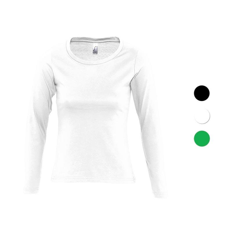 T-shirt personnalisé manches longues Majestic