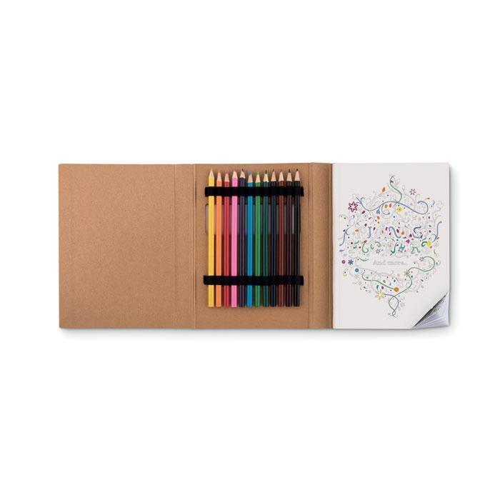 Livre de coloriage adulte Relax - cadeau publicitaire bien-être