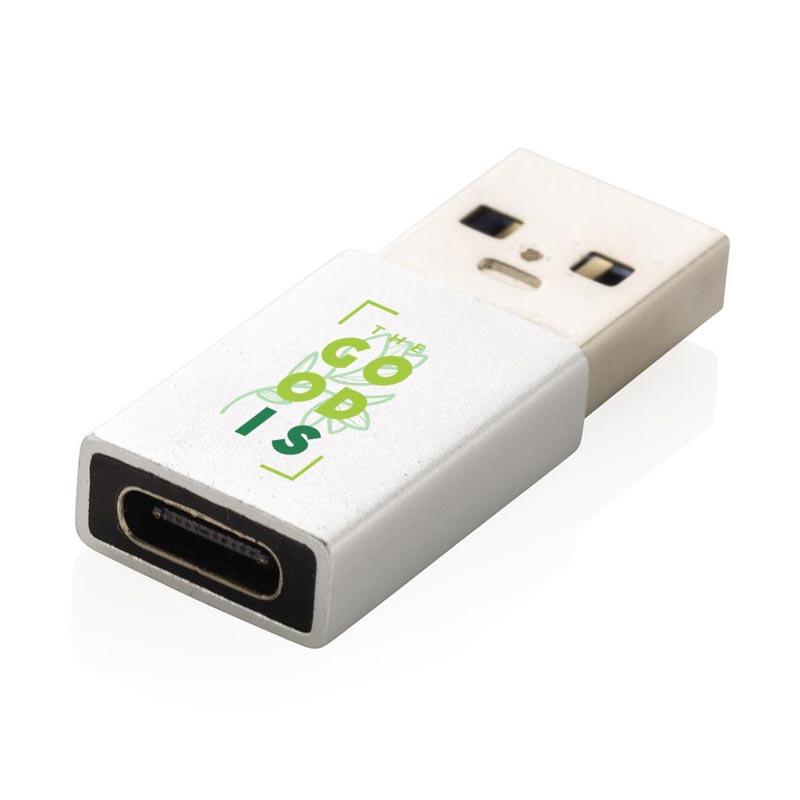 Adaptateur publicitaire USB A vers B