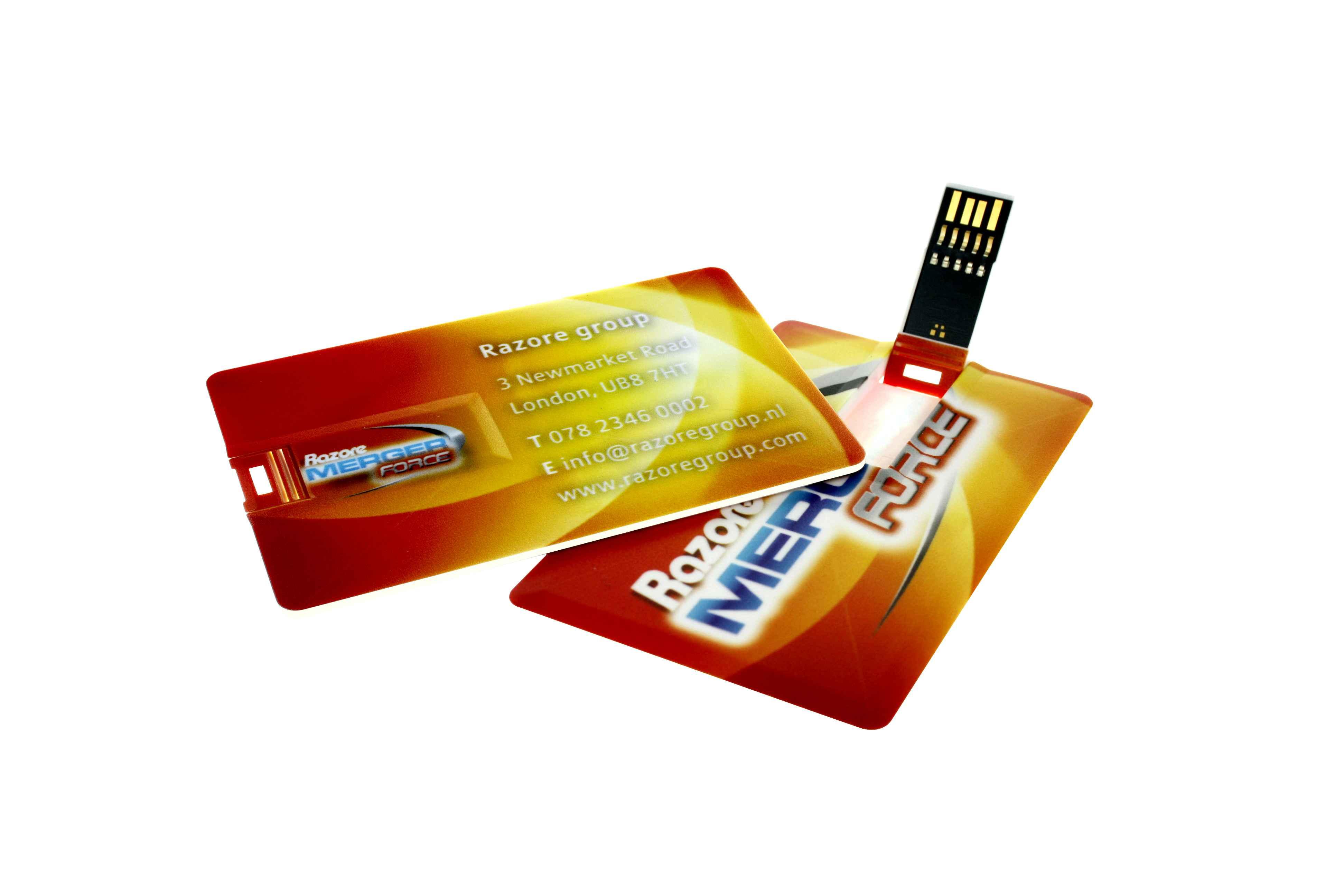 Clé USB personnalisable carte de crédit 3.0