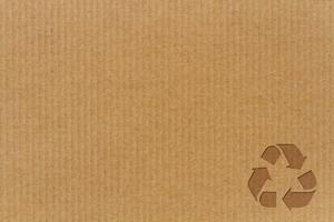 matière carton recyclé cadoetik